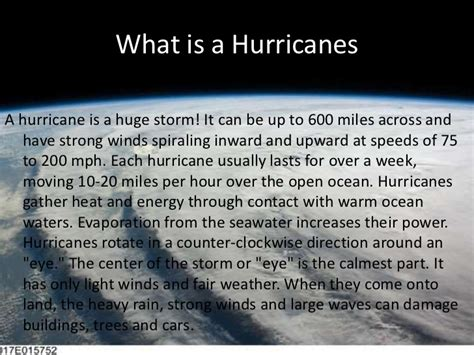 what is a hurricane l tornadoes hurricanes