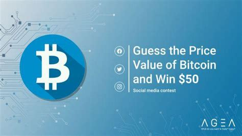 We're already in december of the year 2018 and bitcoin's market value continues to fall which, according to many experts, is to be blamed on the yet to be approved bitcoin etf by the sec. AGEA.Trade: Guess the price value of the Bitcoin and win $50