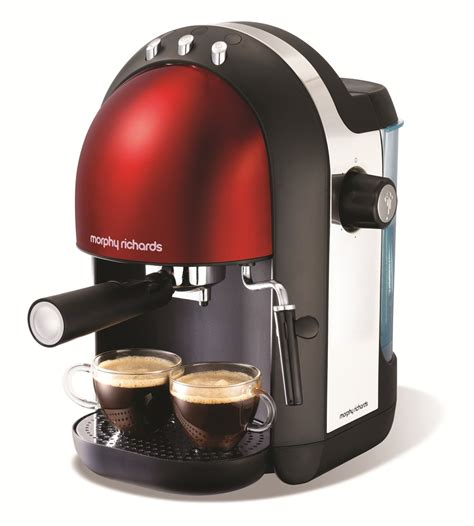 Accents Red Espresso Coffee Maker   Espresso Machines