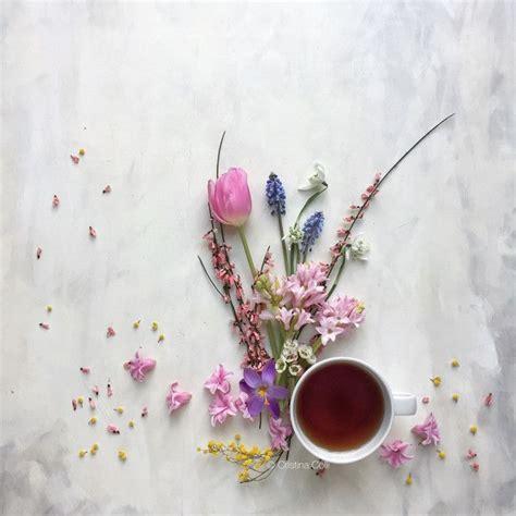 flower flat lay  cristina colli instagram ccolli