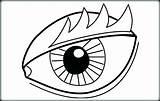 Coloring Eye Eyes Eyeball London Scary Snake Drawing Printable Clipartmag Funny Getcolorings Adults Flowers sketch template