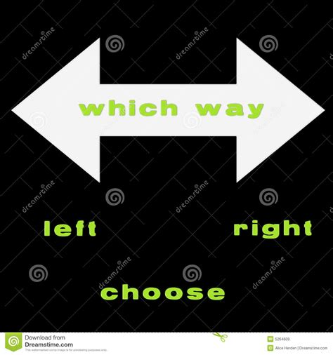 Which Way Royalty Free Stock Images  Image 5264609