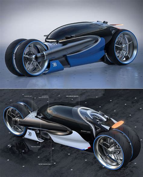 Bespoke bugatti baby ii vehicles arrive with first customers across the globe. Bugatti Type 100M Motorcycle is All-Electric, Has a Holographic Rear View Monitor - TechEBlog