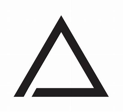 Triangle Font Behance Graphic