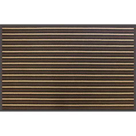 Commercial Doormats by Trafficmaster Brown Stripe 36 In X 60 In Commercial Door