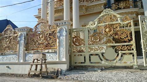 kombinasi warna cat pagar besi kumpulan desain rumah