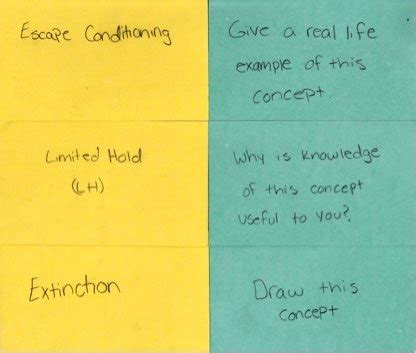 Be Your Own Teacher How To Study With Flashcards — The Learning Scientists