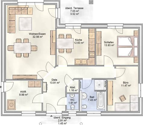 Bungalow Schlüsselfertig Bis 80000 by Die Haustypen Blohm Gmbh