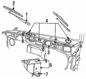 Ford Ranger Arm And Pivot Assembly  Wiper Transmission