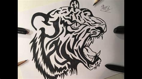Tattoo Draw Lion Easy