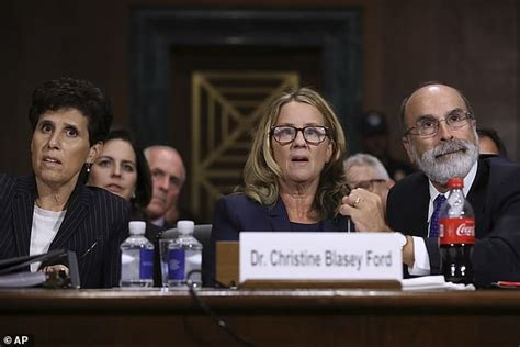 Christine Ford's lawyers are caught on camera sharing a