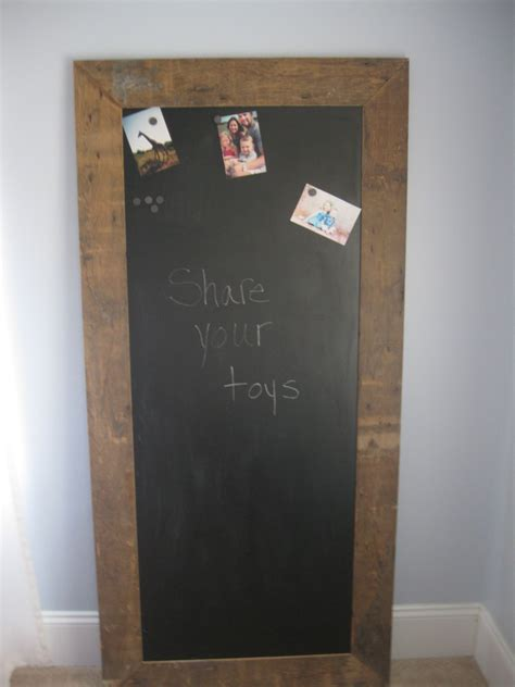 30 5 ft magnetic chalkboard reclaimed frames a of thin sheet metal sprayed with
