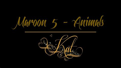maroon  animals  acoustic cover youtube