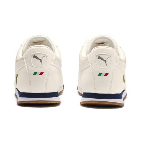 Buy used ferrari roma models in the us online. PUMA Leather Scuderia Ferrari Roma Men's Sneakers in White for Men - Lyst