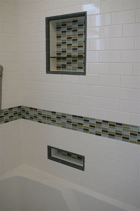 great ideas  glass tiles  bathroom floors