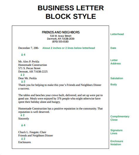 proper letter formats    sample templates