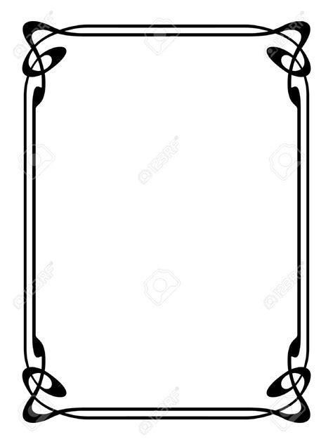 card corner border designs clipart