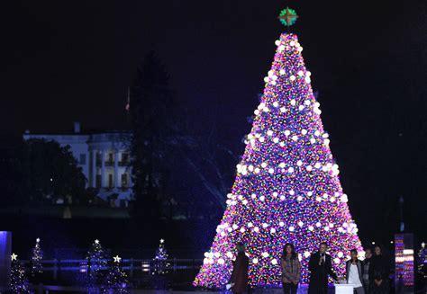 national christmas tree lighting lottery open  weekend