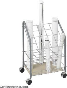 safco tubular wire roll file  compartment steel