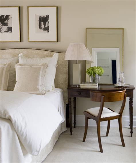 writing desk for bed sophisticated bedroom traditional bedroom phoebe howard
