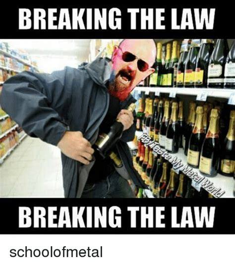 25+ Best Memes About Breaking The Law  Breaking The Law Memes