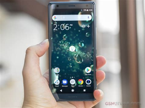 sony xperia xz2 review software