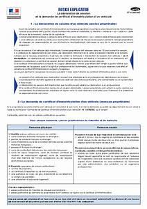 Demande D4immatriculation D Un Vehicule D Occasion : declaration de session de vehicule ~ Gottalentnigeria.com Avis de Voitures