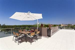 grosse sonnenschirme xxl sonnenschutz fur den garten With französischer balkon mit regen sonnenschirm