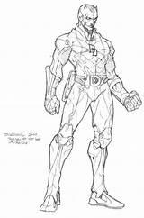 Daredevil Coloring Marvel Drawing Colorear Superheroes Comic Drawings Devil Turtles Ninja Dibujos Avengers April Objetos Comics Neil Printable Starklx Casey sketch template