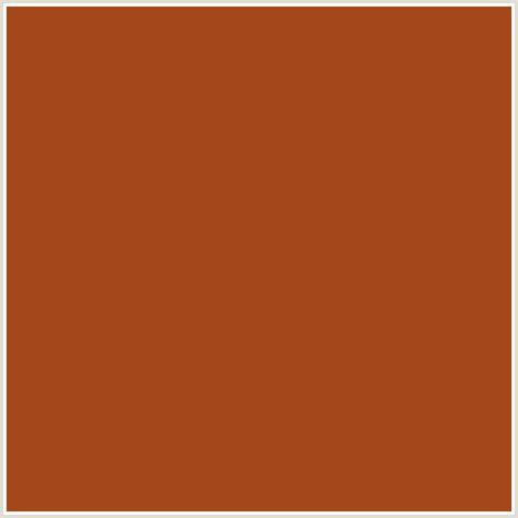 what color is cognac a3481b hex color rgb 163 72 27 cognac orange