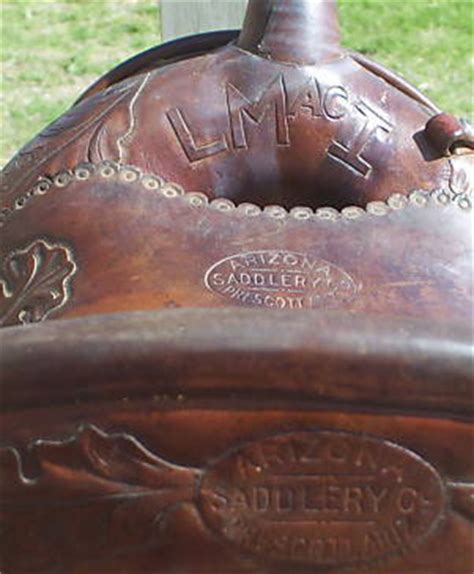 arizona saddlery company history  maker marks www