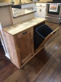 kitchen trash can ideas 25 best ideas about rustic recycling bins on rustic trash and recycling farmhouse