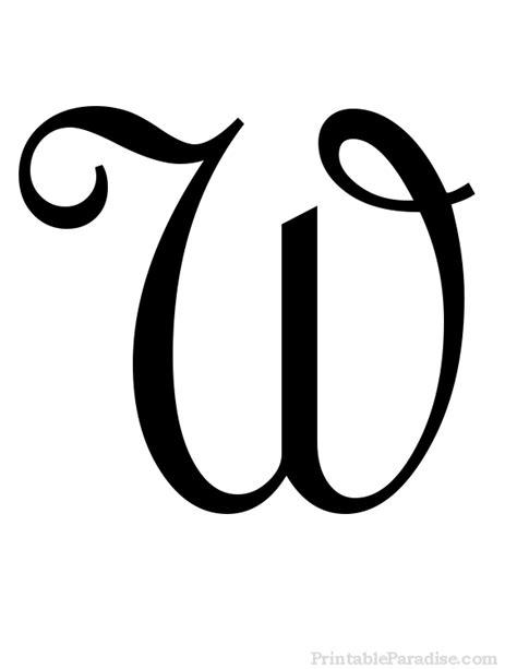 printable letter   cursive writing cursive letters fancy