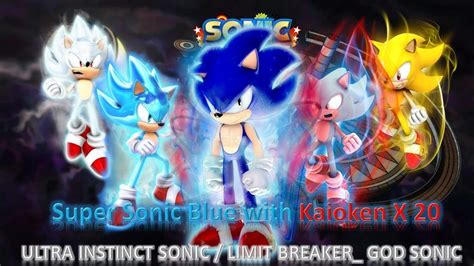 sonic generations mod part 173 ultra instinct sonic limit breaker god sonic mod release