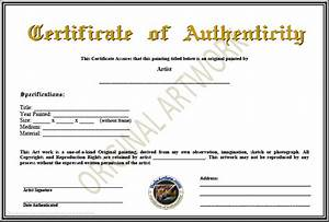 certificate of authenticity template certificate With certificates of authenticity templates