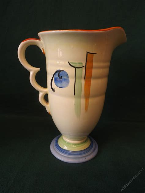 antiques atlas art deco beswick pottery jug