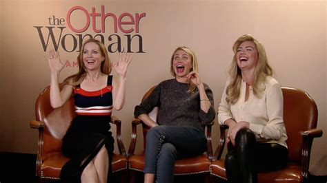 The Other Woman - Interview - Cameron Diaz + Leslie Mann ...