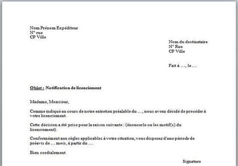 modele lettre de licenciement assistant maternelle remise en propre formule de politesse lettre de licenciement contrat de