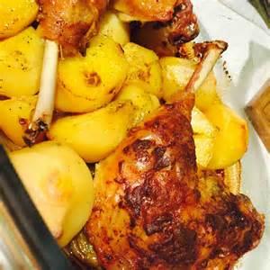 cuisse de poulet au four pomme de terre recette de