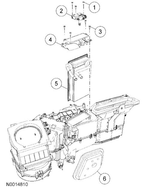 Ford F 150 Heater Diagram by My Heater Quit Working In My 06 F150 No Smell Of