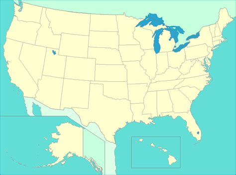 united states map map of us states capitals major