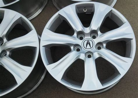 Factory Acura Parts by Sell Acura Rl Factory Wheels 18 Quot Complete Set Of 4 Genuine