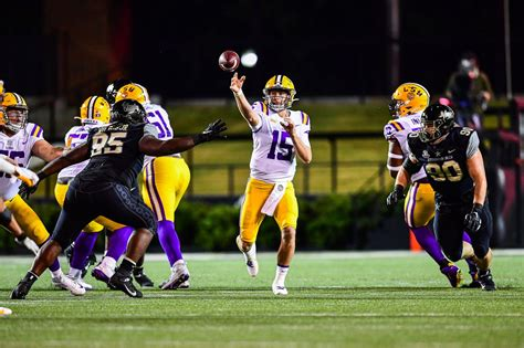 Myles Brennan, LSU bounce back with win over Vanderbilt