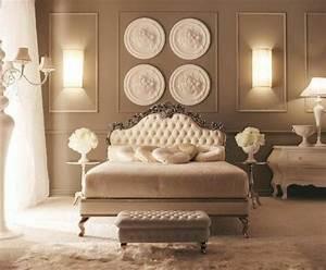 Lit Style Baroque : les meilleures variantes de lit capitonn dans 43 images ~ Teatrodelosmanantiales.com Idées de Décoration