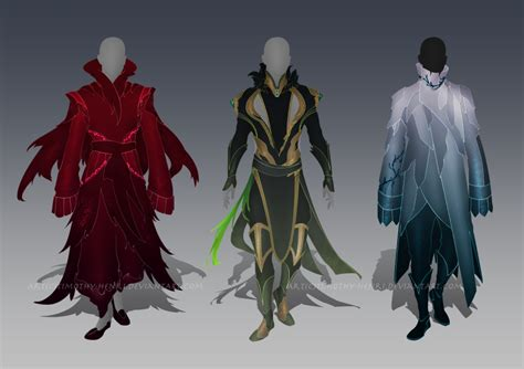 (CLOSED) - Male Outfit Adoptable Set #006 by Timothy-Henri on DeviantArt