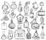 Perfume Bottle Tattoo Fashioned Drawn Drawing Bottles Drawings Coloring Chanel Parfume Sketch Pages Parfum Plan True Case Apocalypse Google Olfaction sketch template