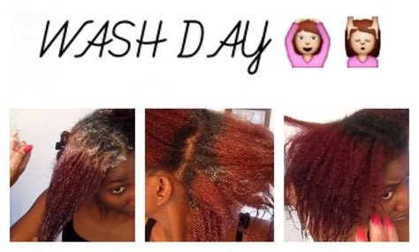 Wash Day For Transitioning Hair [video]  Black Hair