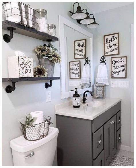 Modern Bathroom Themes by 57 Farmhouse Bathroom Organization Ideas 38 In 2019