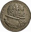 Medaille auf Graf Friedrich von Mömpelgard und Fürstin ...