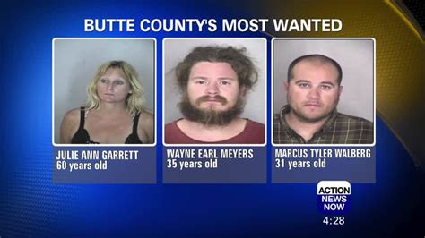 Butte County's Most Wanted Criminals